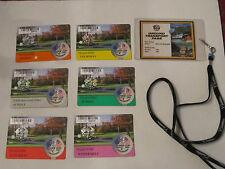 2001 34TH RYDER CUP GOLF TOURNAMENT TICKETS & PASSES COLLECTION  A   TUB C