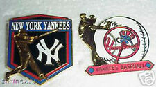 Set of 2 New York Yankees  Logo Collector Pins