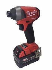 """Milwaukee 2753-20 M18 FUEL 18V Brushless 1/4"""" Hex Cordless Impact + 48-11-1850"""