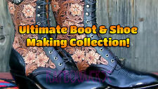 DIY How To Boot & Shoe Making Made Easy Footwear Heels Zip Up 55 Books on DVD