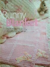 Crochet Pattern for Snuggly Rabbit Baby Blanket