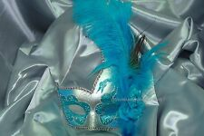 Mardi Gras Masquerade Eyes Mask Ostrich high school graduation sweet 16s Party