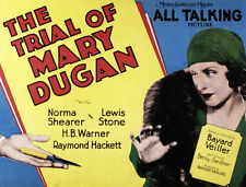 The Trial of Mary Dugan - 1929 - Norma Shearer Lewis Stone - Pre-Code Drama DVD