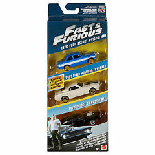 Fast and furious ultimate effectuer pack triple voiture set 1:55 scale new boxed FCG03