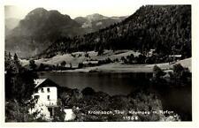 Kramsach Tirol Ansichtskarte ~1950/60 Blick auf den Krumsee mit Rofan ungelaufen