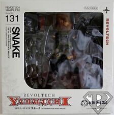 "SNAKE Metal Gear Solid Yamaguchi Revoltech 6"" inch Action Figure #131 2014"