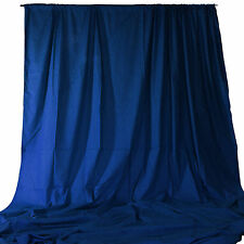 Photography Studio Backdrop 20 W x 9 H ft Royal Blue Theater Stage Panel Drape
