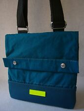CALVIN KLEIN jeans - CKJ - FLIGHT crossover shoulder bag - Teal - NEW - RRP £79