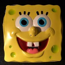 SPONGEBOB PVC MASK YELLOW CHILD-SIZED  HALLOWEEN CARTOON CHARACTER MASK KIDS