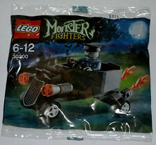 NEW LEGO ZOMBIE CHAUFFEUR Polybag Set 30200 sealed minifig monster fighters toy