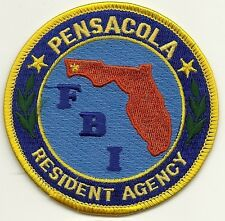 Fbi: florida! pensacola residente Agency Police Patch federal placa de policia