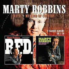 Marty Robbins - R.F.D. / My Kind Of Country [New CD] UK - Import