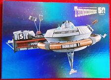 Thunderbirds 50 años tarjeta chase hoja de - - F10-Thunderbird 5-tarjetas imparable