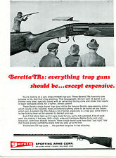1970 Print Ad of Garcia Sporting Arms Beretta TR Series Trap Shotgun