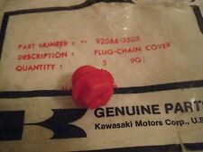 KAWASAKI SNOWMOBILE DRIFTER CHAIN COVER CASE PLUG 1980 NOS!