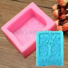 Nature Tree Silicone Soap Mold Craft Molds DIY Handmade Soap Mould Making Tools