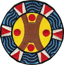 United Confederation of Taino People (UCTP) Embroidered Patch