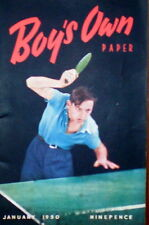 Boy's Own Paper  -   January 1950 (Model Airport - Amateur Radio)