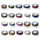 Fashion Mixed Colors Rolls Striping Tape Line DIY Art Tips Decoration Sticker