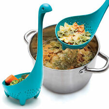 Cute Nessie Ladle Loch Ness Monster Colander Upright Serving Spoon Home Kitchen