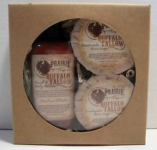 RARE The Prairie Soap Co. Buffalo Beer Soap / Lotion Gift Set-NEW IN BOX!