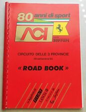 1985 ACI 80 Anni di Sport Roadbook Buch Programm Ferrari brochure prospekt press