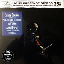 SEALED 180g TAS LIST - STARKER / Dvorak Cello Concerto / Mercury-Decca SR 90303