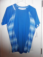 New Blue Nike Fit Dry Reflective Women's XL T-Shirt MSRP $40