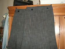 pair of  Business Pencil Skirts  UK 12 priciples classix grey kick skirts unworn