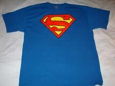 Superman DC Comics Blue Alstyle Apparel T-Shirt Mens X-Large XL used