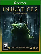 Injustice 2 Ultimate Edition - Xbox One PREORDER XBOne Steel Book Case 5/16/17