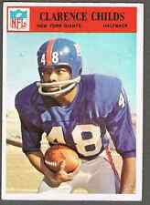 1966 Philadelphia Football Card #121 Clarence Childs -  50-years old, see pics!
