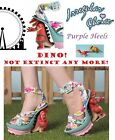 Irregular Choice Limited Edition Dino Worlds First Dinosaur Heel UK6 EU39 US8