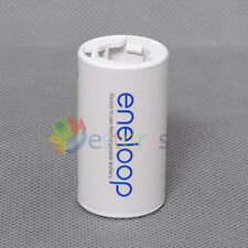 Sanyo Eneloop Battery Adaptor Converter AA R6 to C R14 C-Size
