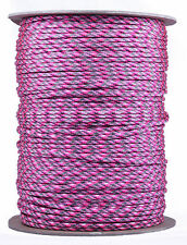 Pink Camo - 550 Paracord Rope 7 strand Parachute Cord - 1000 Foot Spool