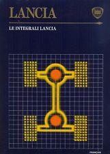 LANCIA y io 4WD DELTA INTEGRALE PRISMA INTEGRALE KIT STAMPA 1988 testo francese