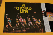 A CHORUS LINE LP COLONNA SONORA ORIG GERMANY 1985 NM TOP AUDIOFILI !!!!!!