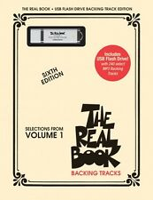 The Real Book Volume 1 Backing Tracks - USB Flash Drive Play-Along NEW 000110599