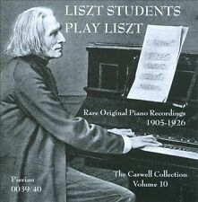 Liszt Students Plays Liszt, New Music