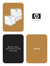 HP Color LaserJet 3500 / 3550 / 3700 Series Service Manual(Parts & Diagrams)