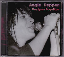 Angie Pepper - Res Ipsa Loquitor - CD (CITADEL citcd556)