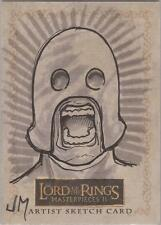 "Lord of the Rings Masterpieces II - Jake Minor ""Orc Berserker"" Sketch Card"
