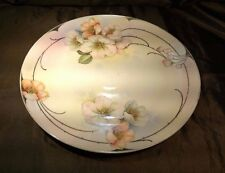 ROYAL RUDOLSTADT PRUSSIA Hand Painted Platter/Serving/Charger Plate Beyer/Bock