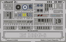 EDUARD 23007 Placards for WWII Bf109G-6 in 1:24