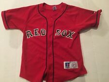 RUSSELL MLB BOSTON RED SOX JOHNNY DAMON YOUTH JERSEY SIZE MEDIUM M (10-12)