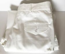 "USMC FLYING CROSS OFFICERS DRESS BLUES WHITE PANTS 36 Altered Inseam 30"" Excelle"