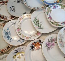 Job lot of 6 Vintage Mismatched Side Plates-Ideal for Tea Parties