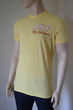 NEW Abercrombie & Fitch Haystack Mountain Lacrosse Yellow Tee T-Shirt S