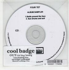 (GJ480) Four Tet, 2 track sampler - 2005 DJ CD