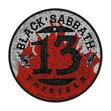 OFFICIAL LICENSED - BLACK SABBATH - 13 SEW ON PATCH METAL OZZY